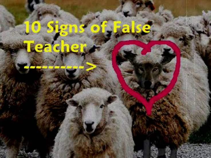 False Prophet wolf in sheeps clothing