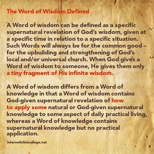 Define Gifts Of The Holy Spirit 2